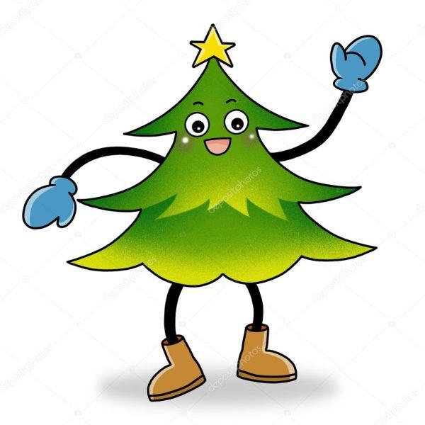Символ рождественской елки — Стоковое фото © twinkieartcat ...