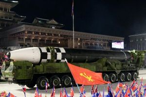 North Korea tests its intercontinental ballistic missile