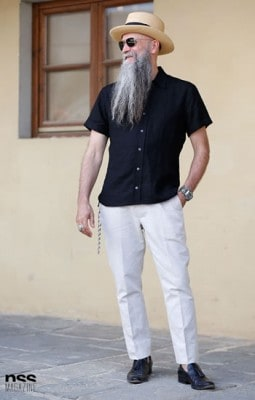 Mike Rubin, Photographed in Florence - Click Photo To See More