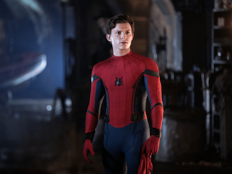 tom holland spiderman far from home
