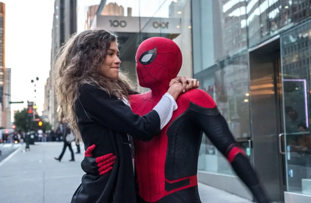 MJ peter parker spider man far from home