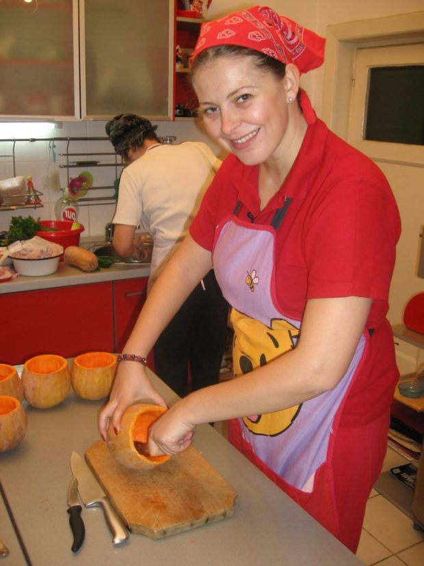 Rita Mureșan a organizat o petrecere culinară