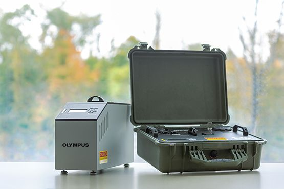X-ray diffraction analyzers for lithology and mineralogy