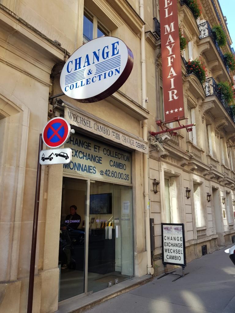 bureau de change 1 rue rouget de lisle 75001 paris