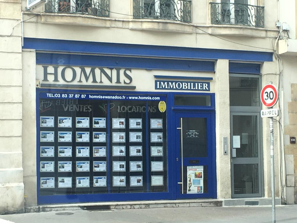 Homnis Agence Immobilire 110 Rue Saint Dizier 54000