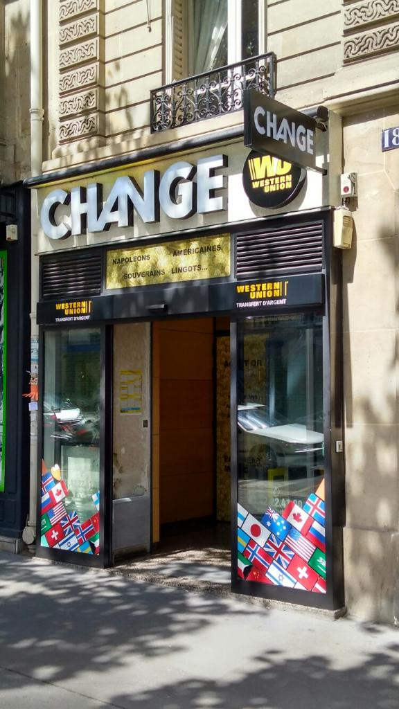 multi change bureau de change 180 boulevard saint germain