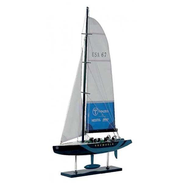 Oneworld makett L45 Vitorlás hajómakett