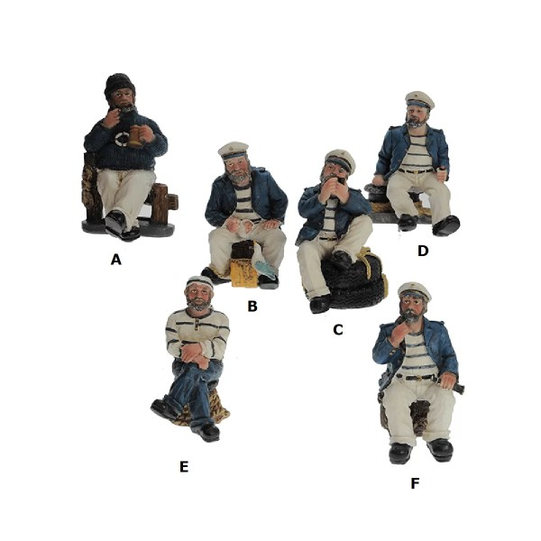 Tengerészek álló 10 cm Mókás figurák, szobrok