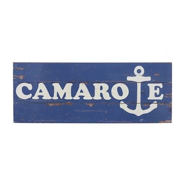 Fa tábla CAMAROE 57 cm Cégér, tábla