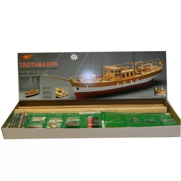 Trotamares hajómakett építőkészlet Mantua