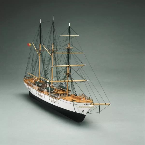 Mercator hajómakett építőkészlet Mantua