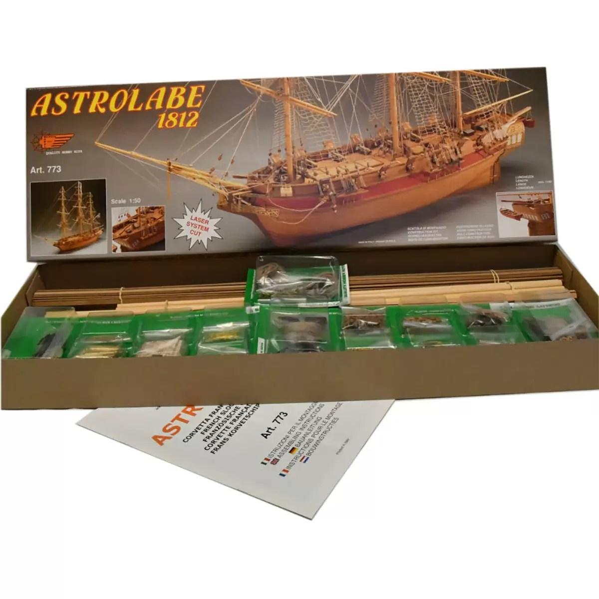 Astrolabe hajómakett építőkészlet Mantua