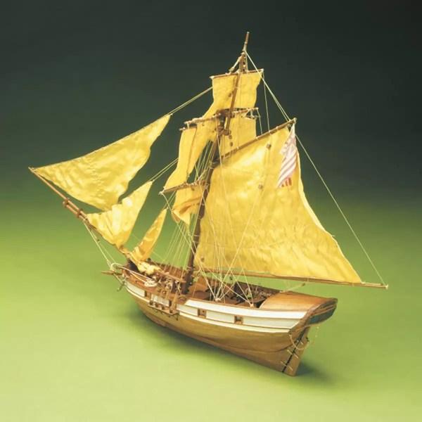 HMS Jamaica hajómakett építőkészlet Sergal