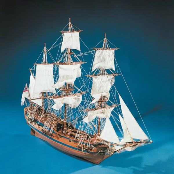HMS Peregrine hajómakett építőkészlet Sergal