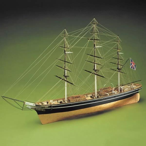 Cutty Sark hajómakett építőkészlet Sergal