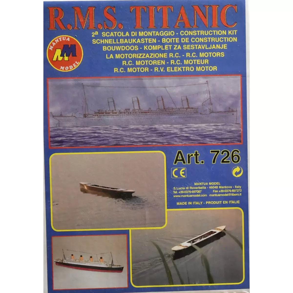 Titanic Kit No.2 hajómakett építőkészlet Mantua