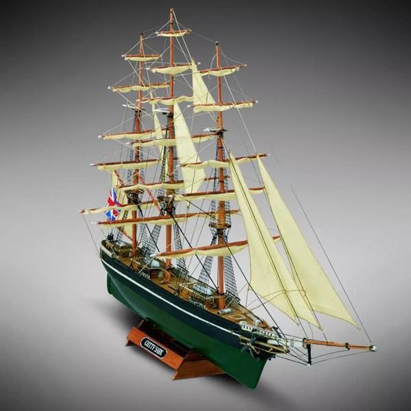 Cutty Sark hajómakett építőkészlet Kezdő és gyerek kitt