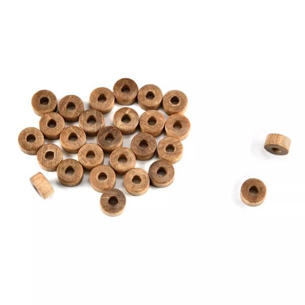 Fa karika- ágyú kerék 5mm 10 darab Kiegészítők