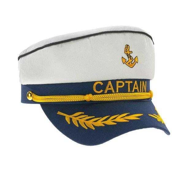 Kapitányi sapka felnőtt állítható Sapka, kalap