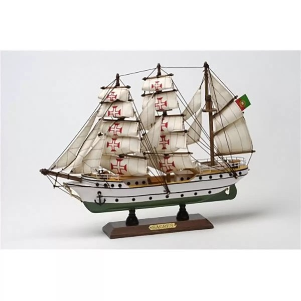 Sagres makett Szuvenír hajómakett