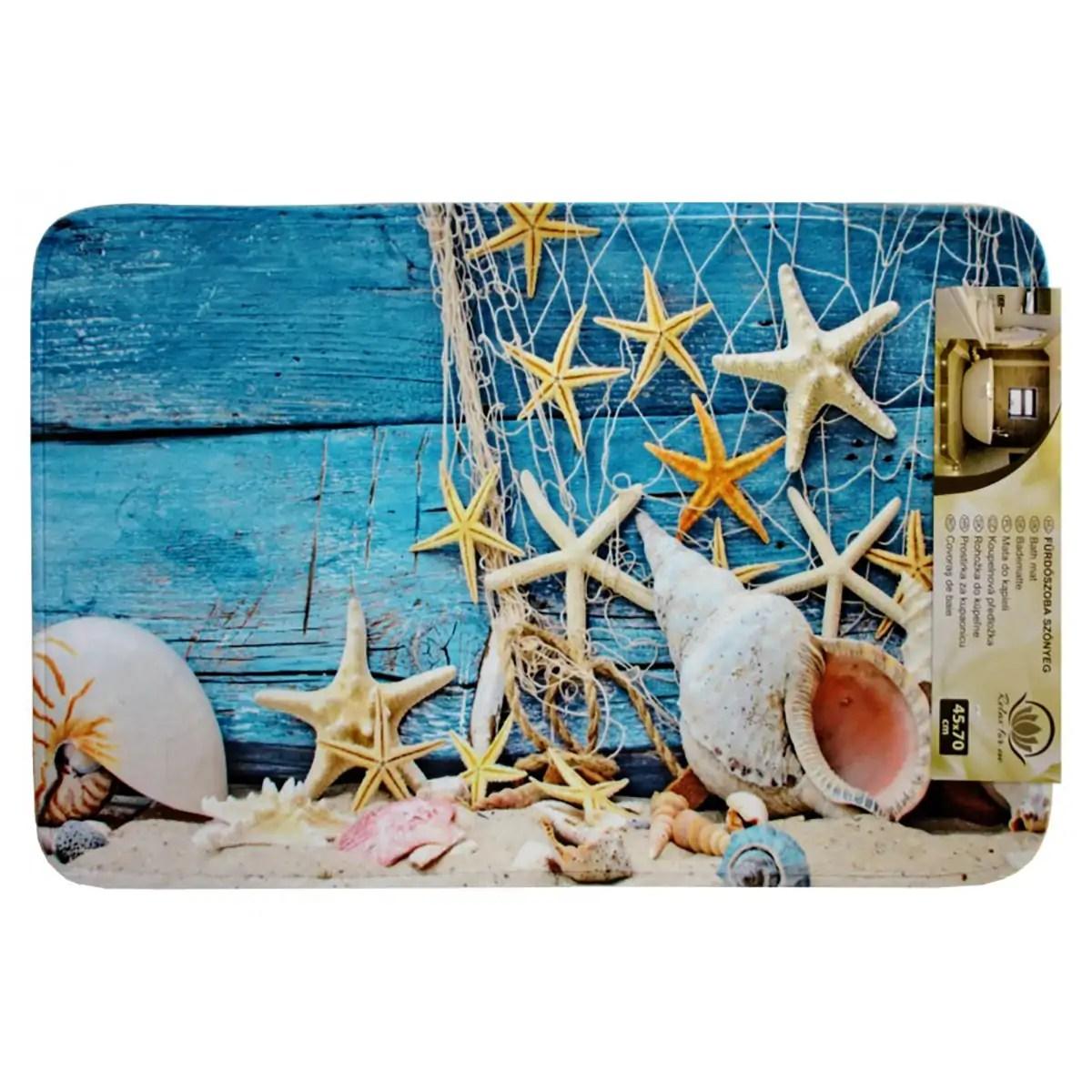 Kádkilépő kagylós Lábtörlő, szőnyeg