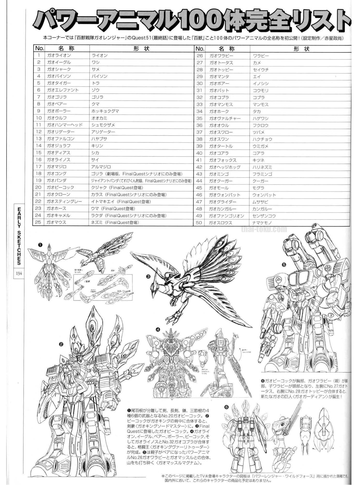 Hsg Artbook Power Animals1