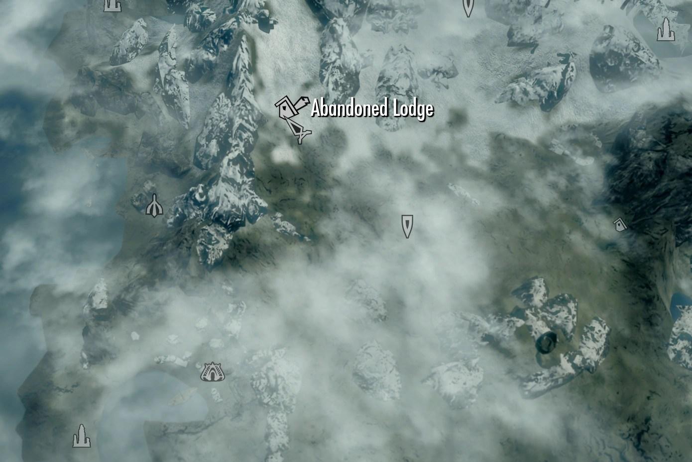 Map Skyrim Location Barrow Bloodskal