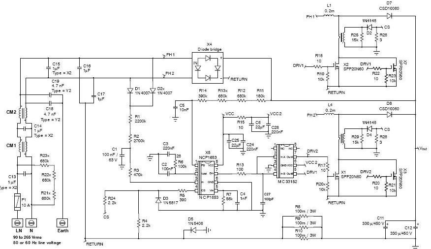 Astec Power Supply Schematics