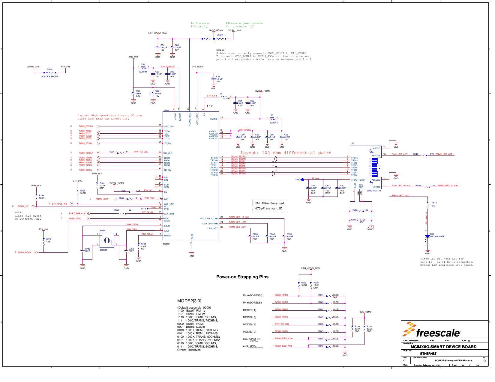 Mcimx6q Sdb Reference Design