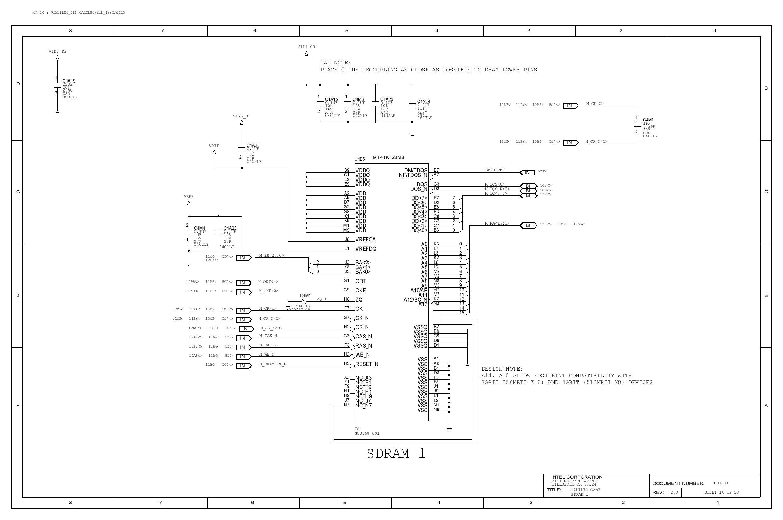 Galileo Gen 2 Reference Design