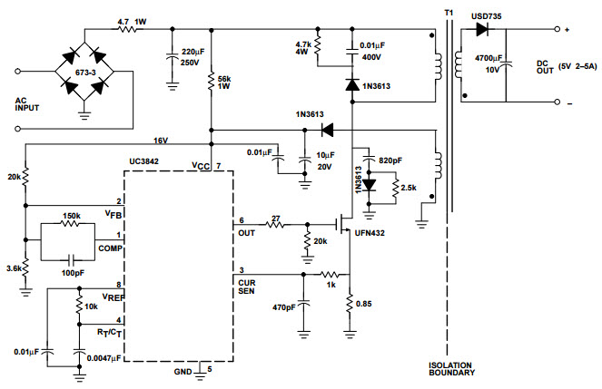 Smps Circuit Diagram  Auto Electrical Wiring Diagram