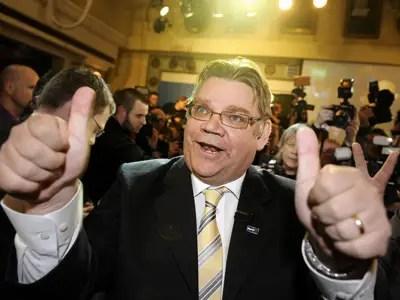 Timo Soini, True Finns Chairman