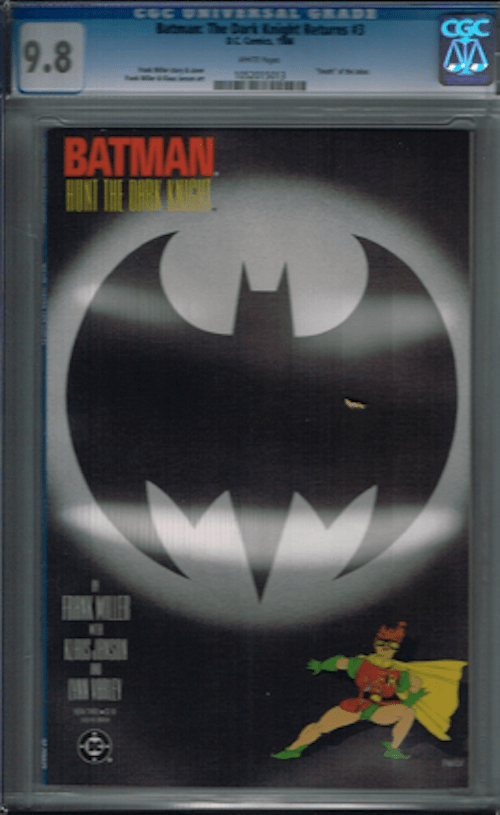 Batman, The Dark Knight Returns, by Frank Miller