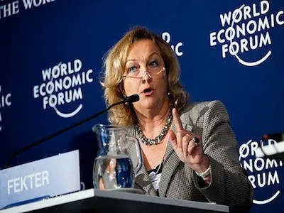 Maria Fekter, Austrian Finance Minister