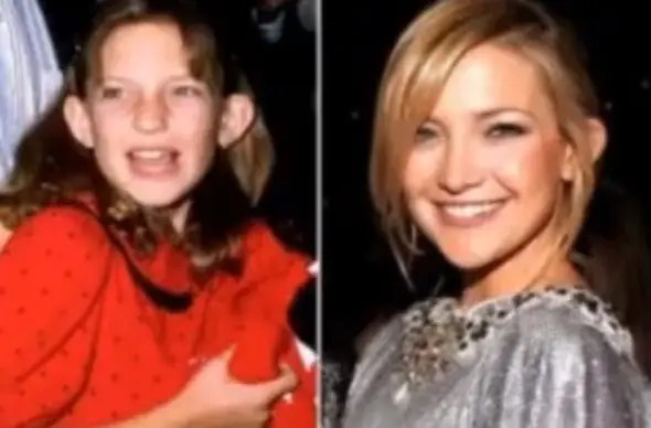 Kate Hudson came from a Hollywood family before stepping into the limelight herself.