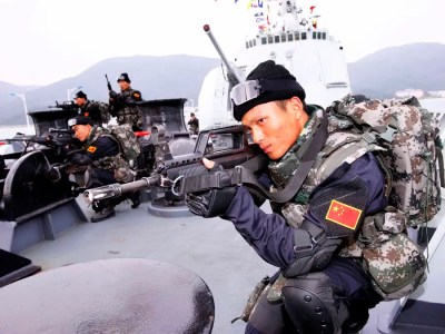 China Special Forces Navy Sailor