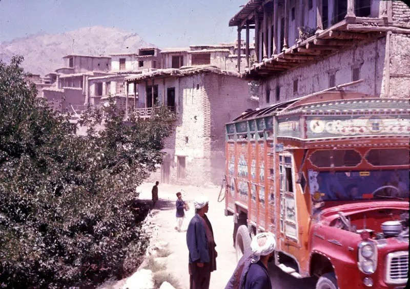 Following World War II, which Afghanistan stayed out of, the Soviets and Americans competed for rights to build Afghan roadways.