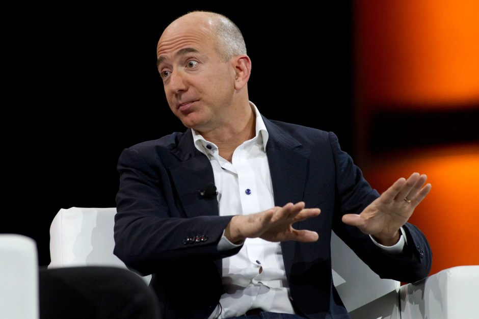 "Amazon asks: ""Jeff Bezos walks into your office and says you can have a million dollars to launch your best entrepreneurial idea.  What is it?"""