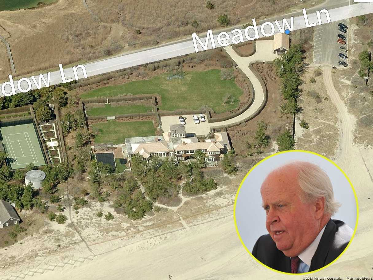 Ford Financial Fund managing member Gerald J. Ford owns this three-lot compound valued at $38.5 million, which includes the 6,000-square-foot guesthouse he purchased separately in 2011 for $10 million.