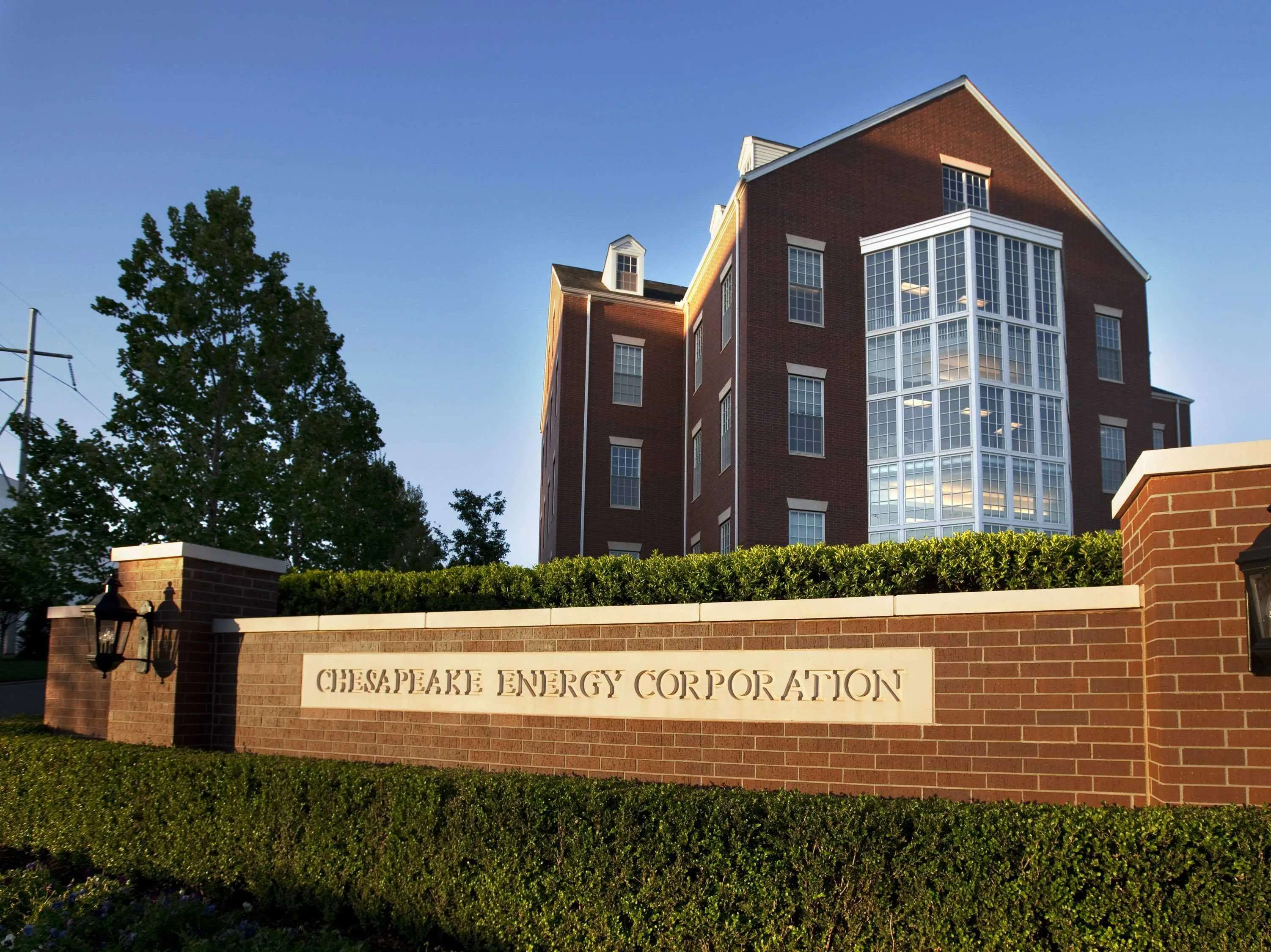 39. Chesapeake Energy is held by 15 funds