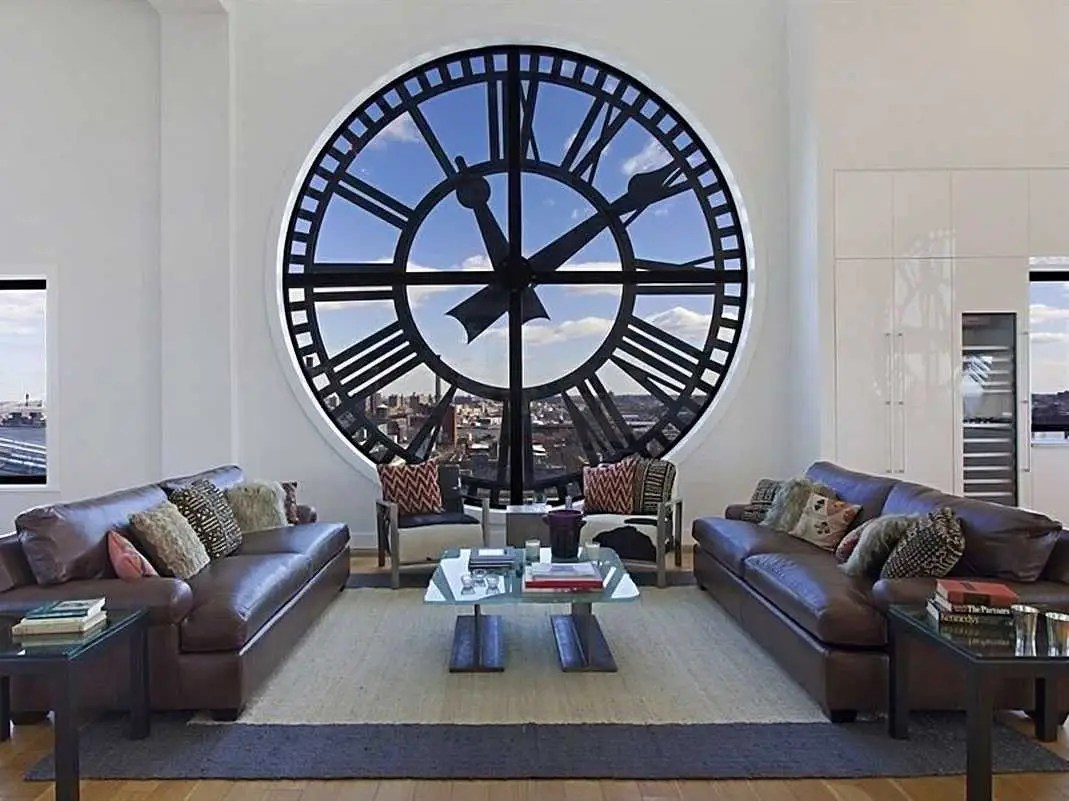 #6 A triplex penthouse atop Brooklyn's iconic Clock Tower building had some of the most incredible views of Manhattan and downtown Brooklyn. It came back on the market after a hiatus for $18 million.