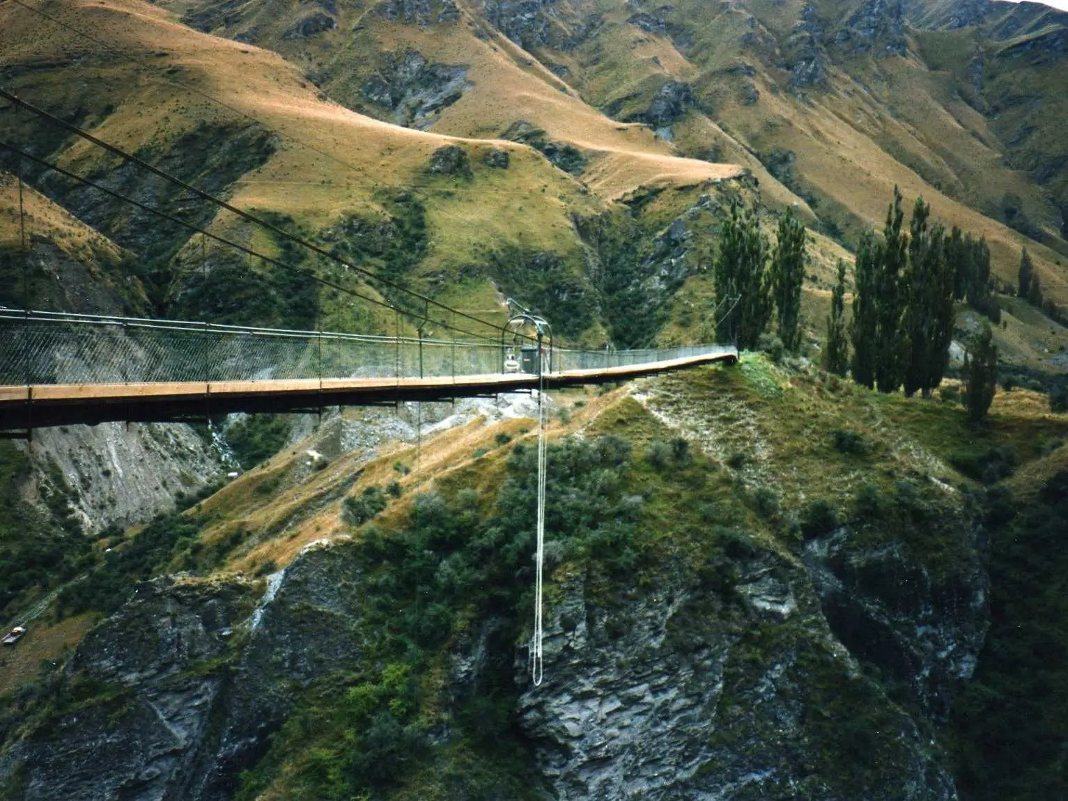"Bungee jump in Queenstown, New Zealand, the ""adventure capital of the world."""