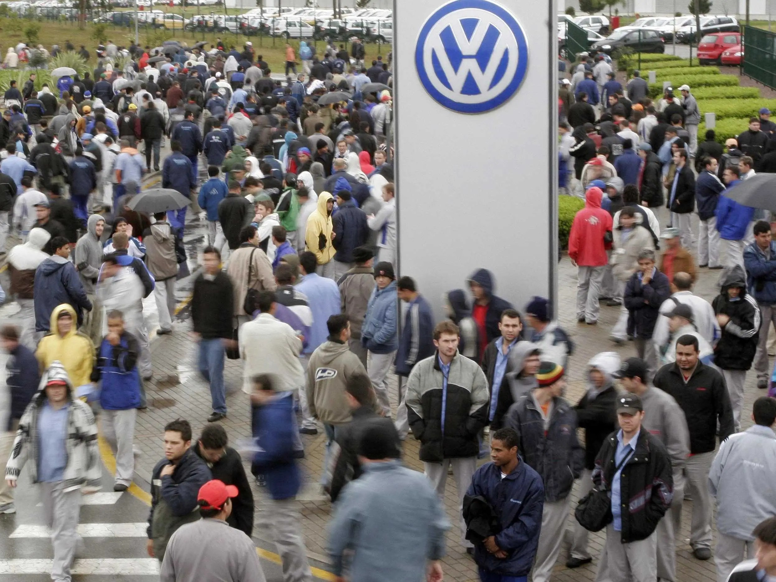 Volkswagen Workers In Brazil