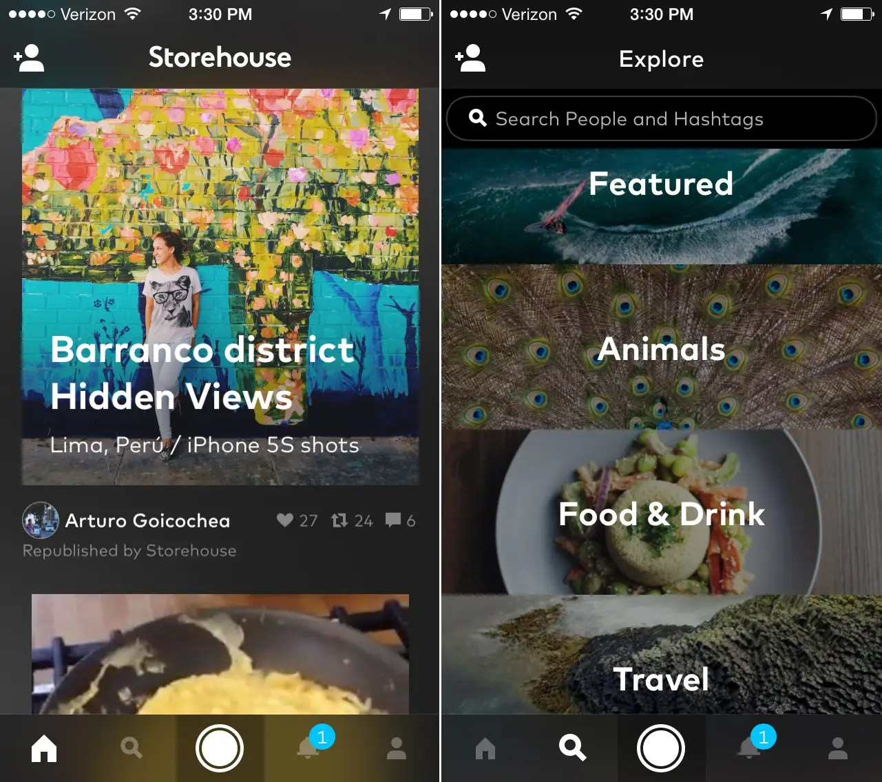 Storehouse is a photo-sharing app with an emphasis on beautiful layouts.