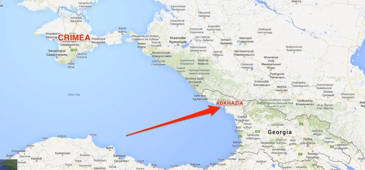 abkhazia and crimea
