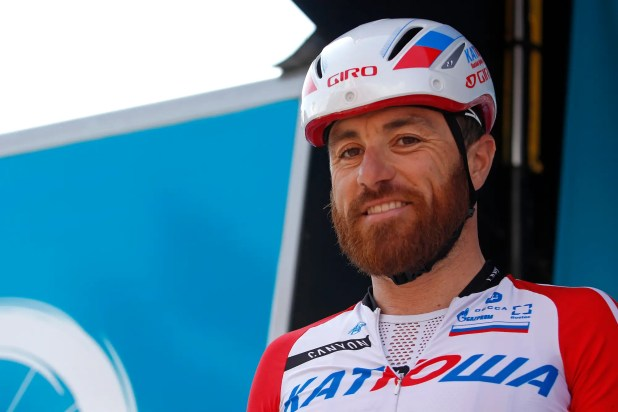 cocaine busted Tour de France rider Luca Paolini