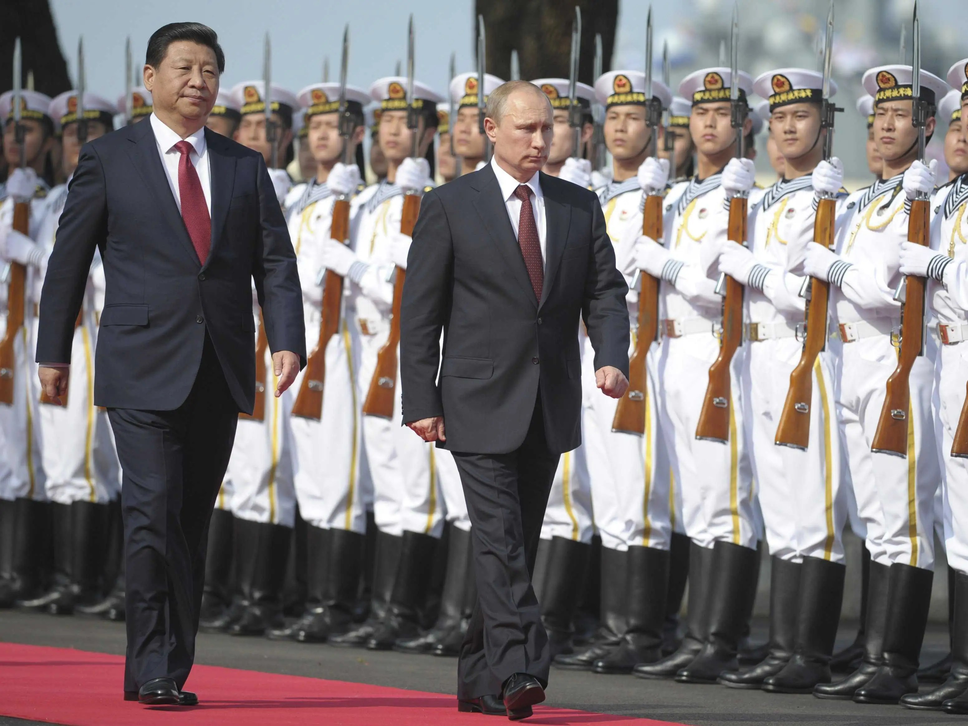putin xi china russia