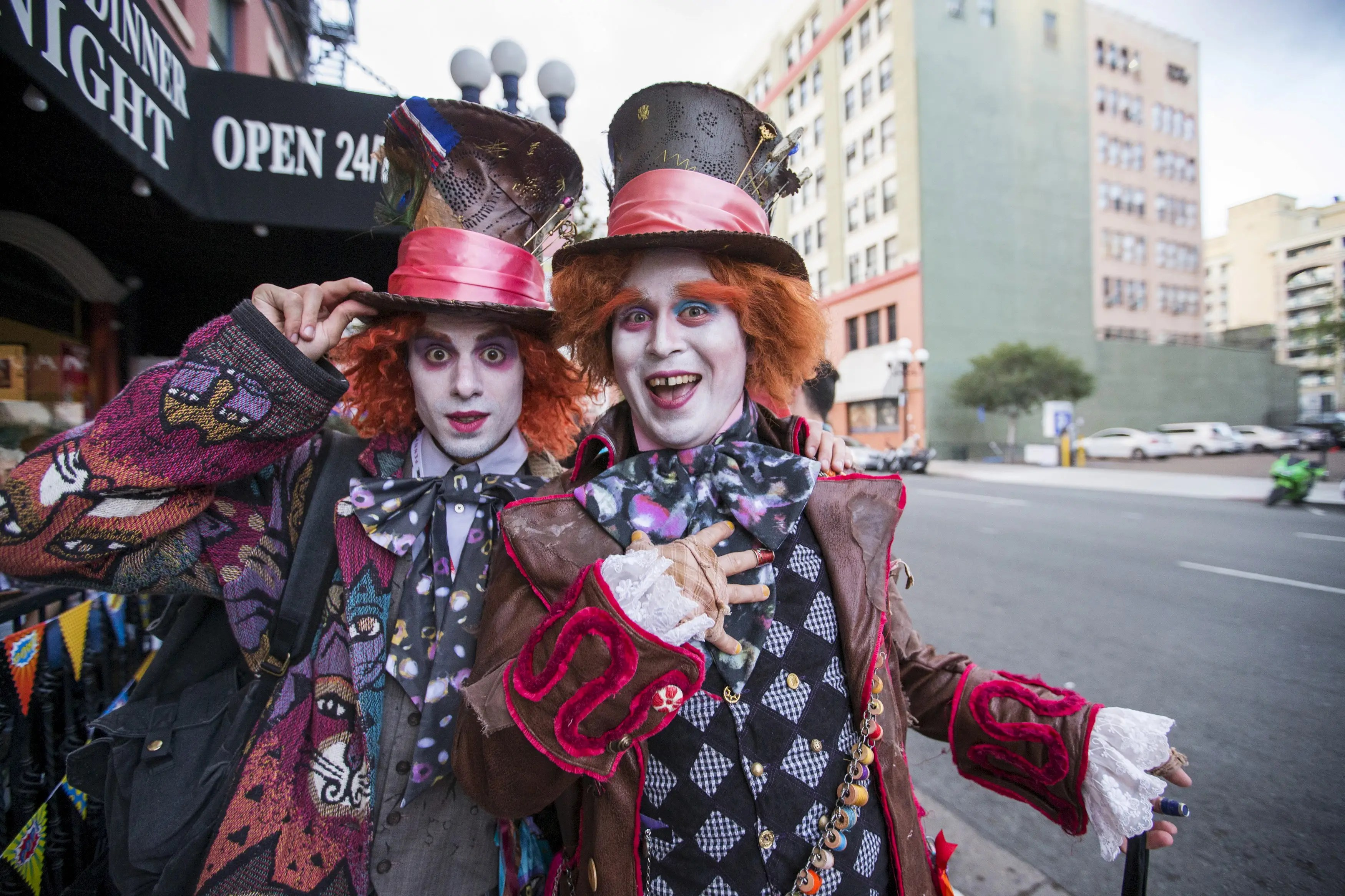 What's more unnerving than one Mad Hatter from Tim Burton's
