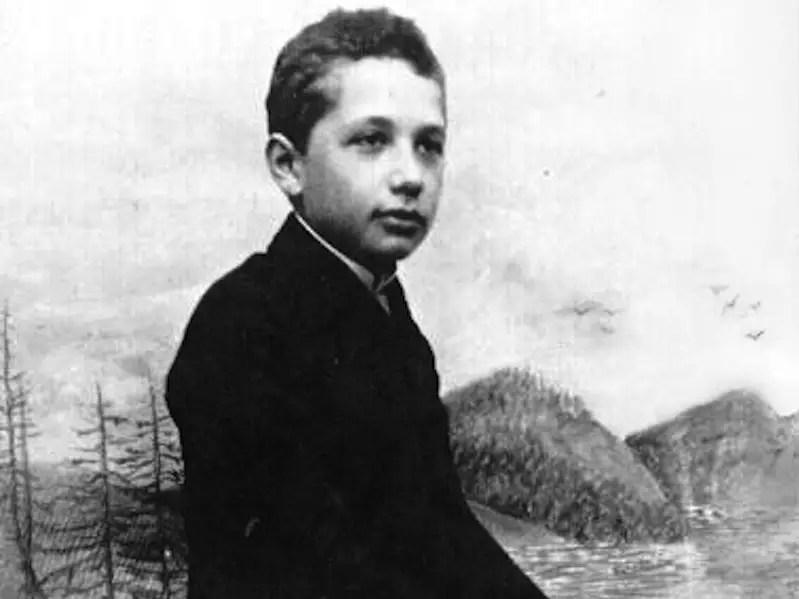 Einstein developed a passion for music in his early teens.