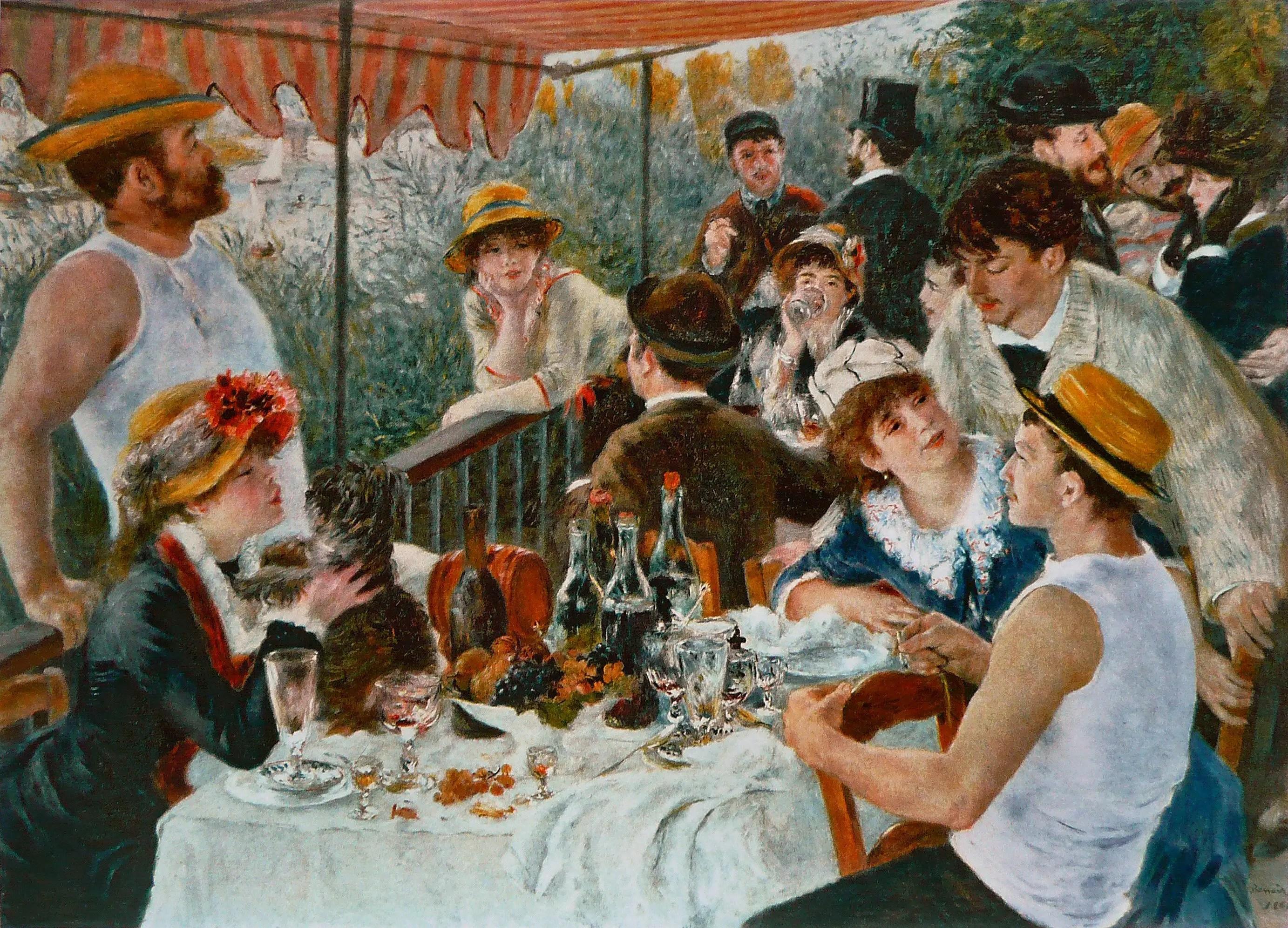 Le Dejeuner des Canotiers de Pierre-Auguste Renoir à The Phillips Collection à Washington DC